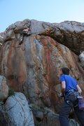 Rock Climbing Photo: Bryan Ferris on Art Imitates Life. Photo by Joseph...