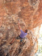 Rock Climbing Photo: Cres... early attempt on Cres-sent (around summer ...