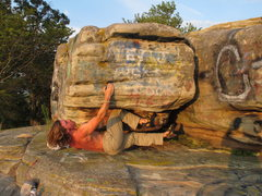 "Rock Climbing Photo: Cody Brundidge climbing ""bert"" located o..."