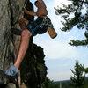 Glen climbing one hit wonder Photo: Cody Brundidge