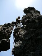 Rock Climbing Photo: On the second ascent of Salathe Highway