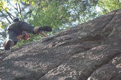 Rock Climbing Photo: Nate Penney on the J.C bloc at Cliff Drive.  These...