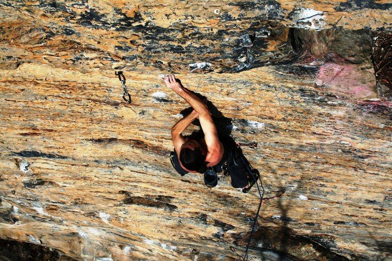 Rock Climbing Photo: Chris smith by me
