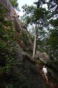 Rock Climbing Photo: Michael Levato on Lonesome Dove. Photo by Joseph L...