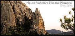 Rock Climbing Photo: Dire Spire Sunset