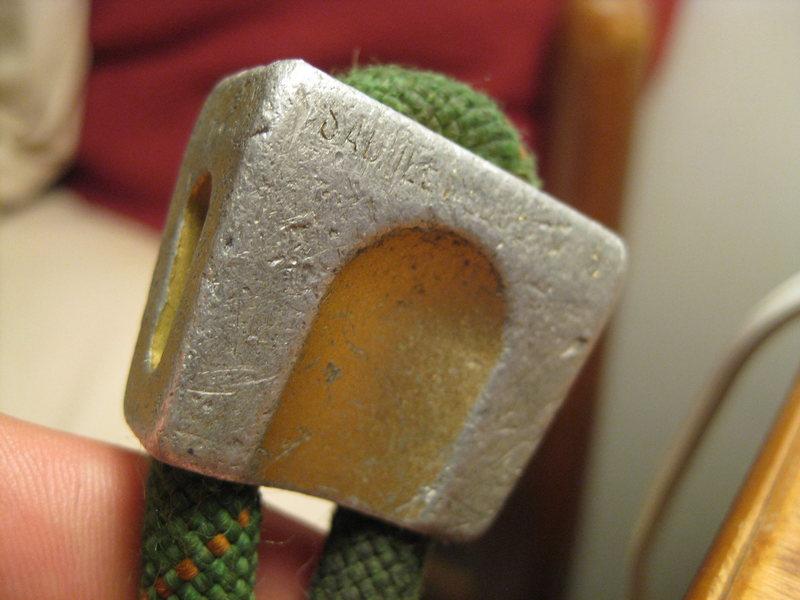 Rock Climbing Photo: A Saddlewedge Nut