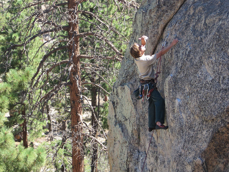 Rock Climbing Photo: Set the controls for the heart of the sun...