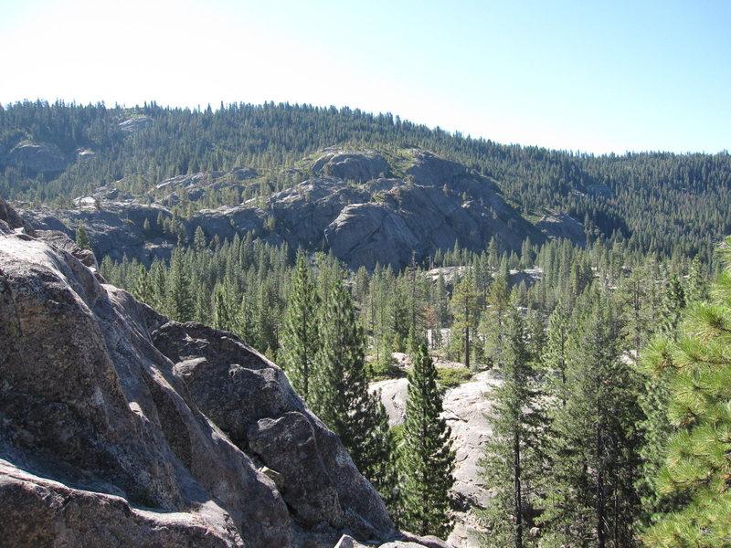 Bowman Lake valley panorama No.2