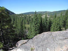 Rock Climbing Photo: Bowman Lake valley panorama No.3