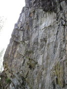Rock Climbing Photo: Left side of the main Bowman wall. The routes on t...