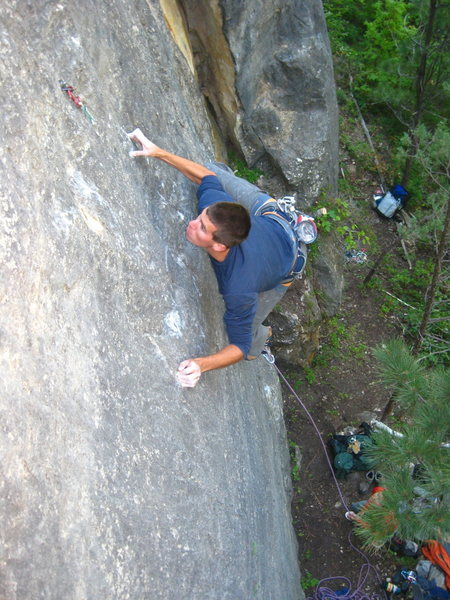 Chris Hirsch on the second ascent of Naz