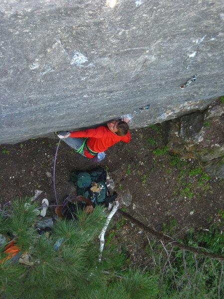 Rock Climbing Photo: Starting move
