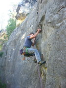 Rock Climbing Photo: Kretschmar on the Iron-Jug