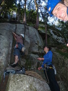 Rock Climbing Photo: St Vitus Start