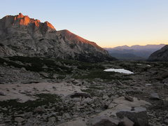 Rock Climbing Photo: Alpenglow on the Arrowhead.