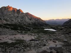Rock Climbing Photo: Alpenglow on the Arrowhead.