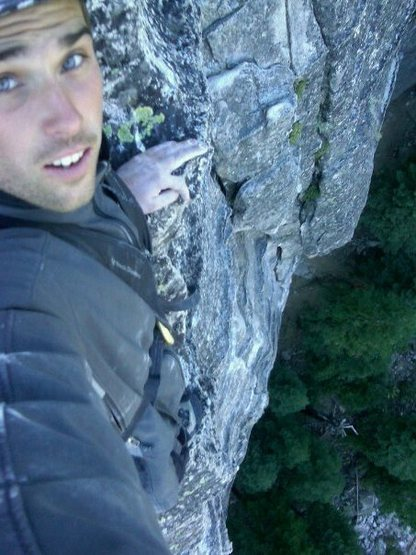 Rock Climbing Photo: Awesome climb.