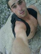 Rock Climbing Photo: Hair raiser, amazing experience.