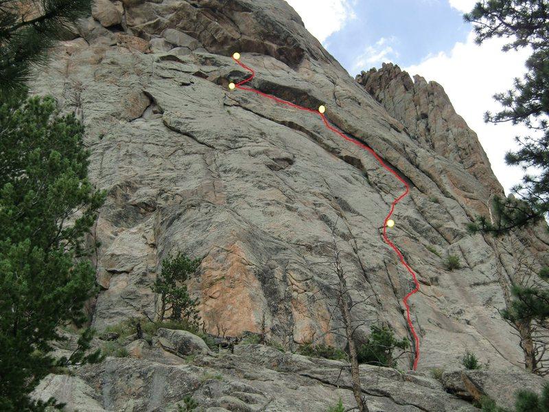 Rock Climbing Photo: Under The Sundress.