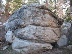 Rock Climbing Photo: Creekin' Boulder, Tramway