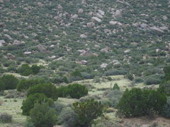 Rock Climbing Photo: View from the Trailside Boulders just in front of ...