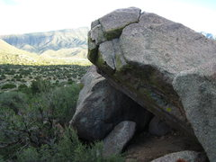 Rock Climbing Photo: The angle
