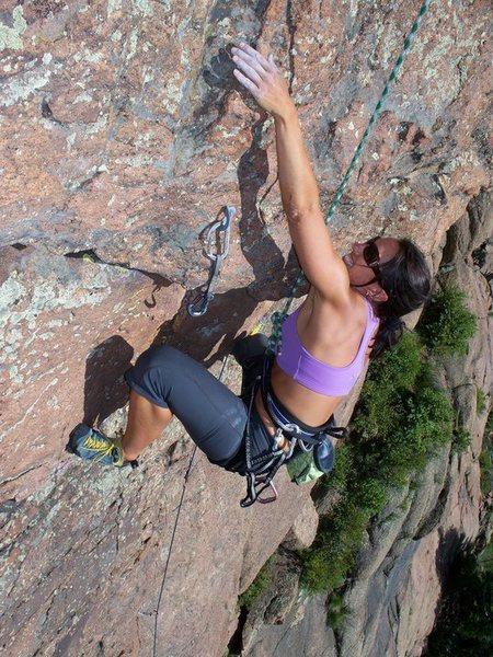 Rock Climbing Photo: Climbing at Devils Head