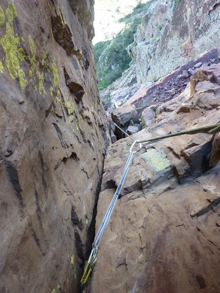 Rock Climbing Photo: P2 of Closer