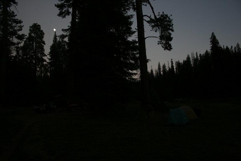 Quacking Aspen Campground Friday. 8-20-10