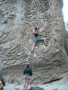 Rock Climbing Photo: Sometimes, when I get a little tired, I stick my f...