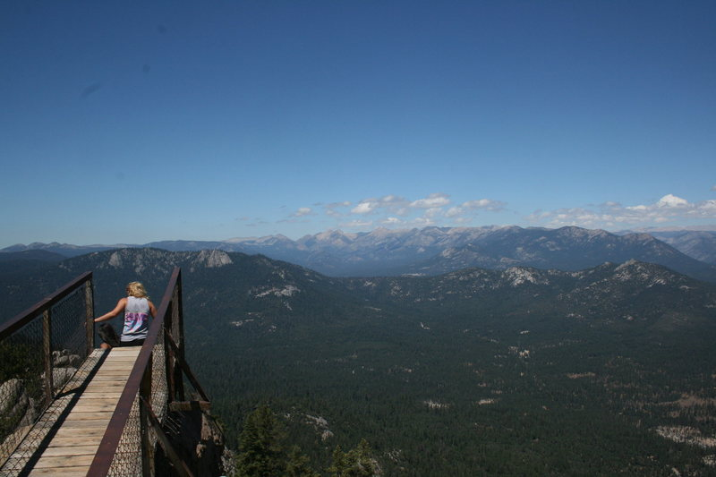 Rock Climbing Photo: Looking north from the lookout on a beautiful day....