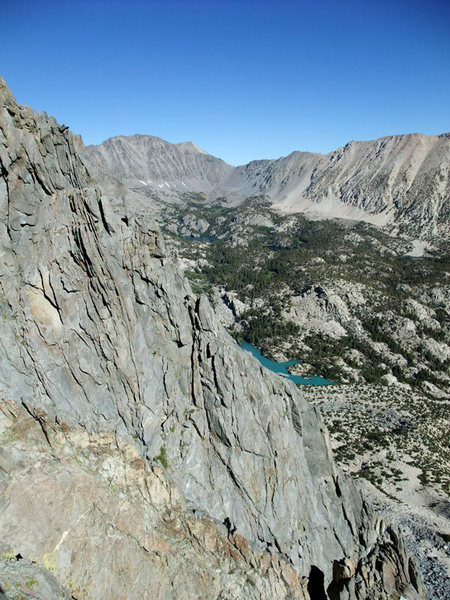 Rock Climbing Photo: the arete from Venusian