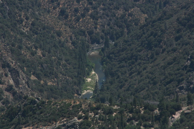 Kern River from the lookout. 8-21-10