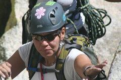 Rock Climbing Photo: Agina  8-21-10