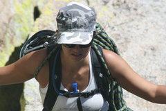Rock Climbing Photo: Marina  8-21-10