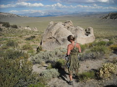 Rock Climbing Photo: Babes in the Sagebrush  [aka the better, more hard...