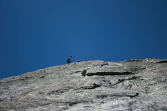 Rock Climbing Photo: Sheila and Alfred at the 3rd pitch belay on the Tr...