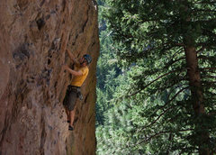 Rock Climbing Photo: Route faces west and is shady until a bit after no...
