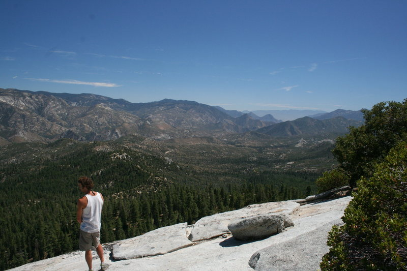 Rock Climbing Photo: And looking south from Dome Rock towards Kernville...