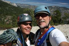 Rock Climbing Photo: Our summit photo.  8-2-10