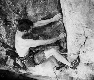 Rock Climbing Photo: Awesome and pumpy to the top.