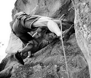 Rock Climbing Photo: Just before the top-out, which, if you're not care...
