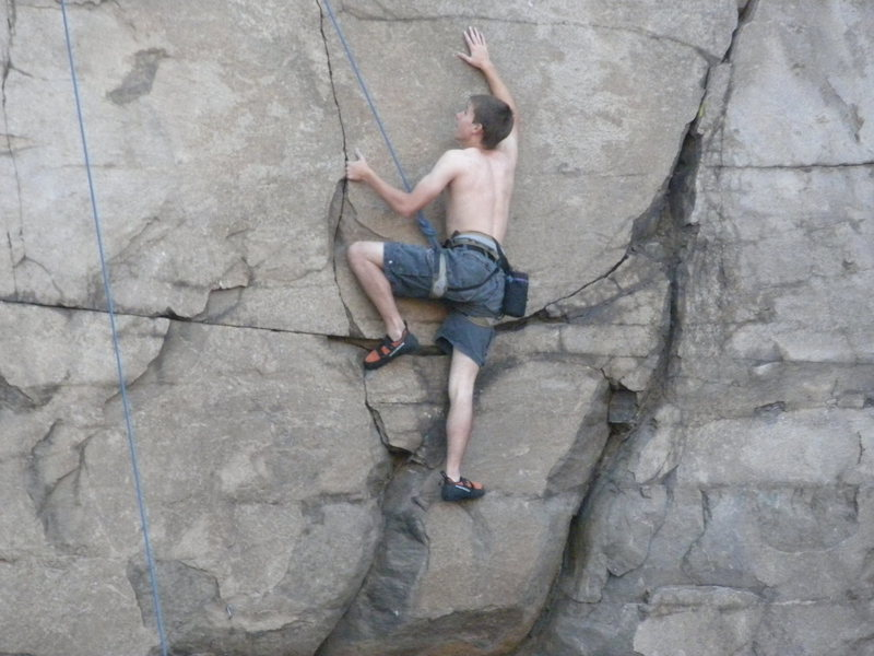 Rock Climbing Photo: Rancid - 5.10b -  North Table Quarry