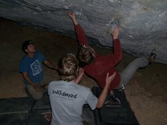 Rock Climbing Photo: This is the start of an amazing and brutal route. ...