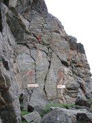 Rock Climbing Photo: Liken I on the right.