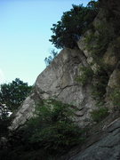 Rock Climbing Photo: Left Section