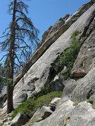 Rock Climbing Photo: Main Wall. Photo by Blitzo.