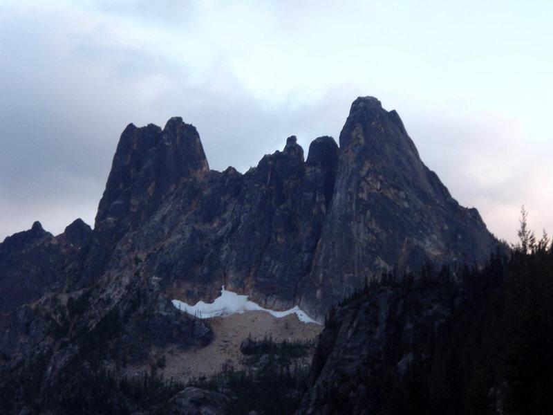 Rock Climbing Photo: Liberty Group