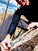 Rock Climbing Photo: wrench
