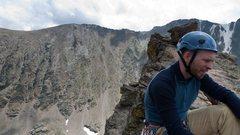 Rock Climbing Photo: Jeff Petit summit, July 2010